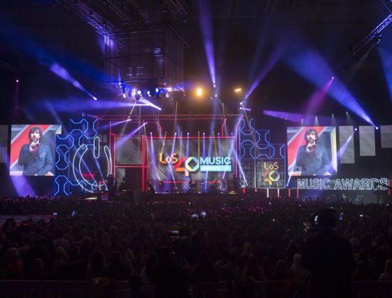 Notas sobre la organización y difusión de los 40 Music Awards